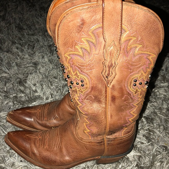 99d383b6667 Lucchese 1883 Studded Cowboy Boots For Women